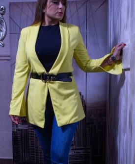 chaqueta limón